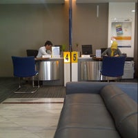 Photo taken at Bank Mandiri cabang Makassar Sulawesi by Sherly J. on 10/9/2014