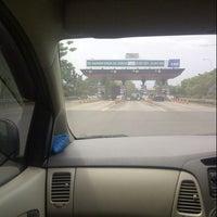 Photo taken at Gerbang Tol Cambaya by Sherly J. on 8/7/2014