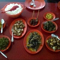 Photo taken at RM. Bunaken Indah by Sherly J. on 10/8/2013