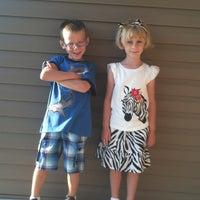 Photo taken at Kooser Elementary School by Jessica C. on 8/13/2013