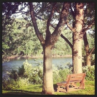 Photo taken at Otsiningo Park by Stacey K. on 7/15/2013