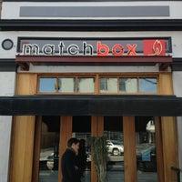 Foto tirada no(a) Matchbox Vintage Pizza Bistro por Kevy K. em 1/27/2013