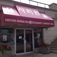 Photo taken at Sariwon Korean BBQ Restaurant 사리원 by Christine on 6/17/2013