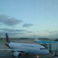 Photo taken at Manchester International Airport (MAN) by Marien P. on 2/8/2013