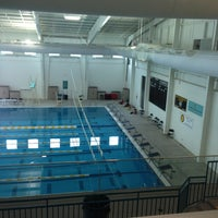 Photo taken at Cumming Aquatic Center by Wesley C. on 1/13/2013