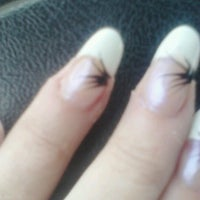 Photo taken at Nails 54 by Pamela T. on 1/22/2013