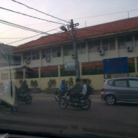 Photo taken at SMP N 73  tebet timur by erlien a. on 11/1/2012