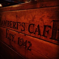 Photo taken at Lambert's Cafe by Jeremy Q. on 7/5/2013