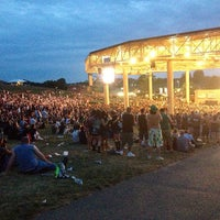Photo taken at Klipsch Music Center by Bruce M. on 7/27/2013