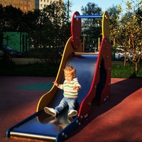 Photo taken at Детская площадка by Dmitry M. on 9/7/2014