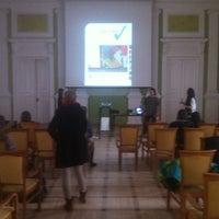 Photo taken at Centralna Biblioteka Rolnicza by Jan K. on 3/18/2013