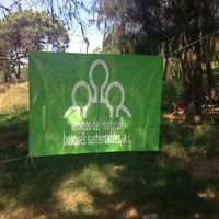 Photo taken at Zona Forestal Lomas de Zapopan by Laura H. on 11/9/2013
