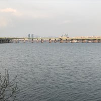 Photo taken at Han River by Khalid A. on 3/25/2017
