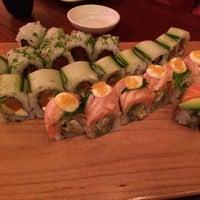 Photo taken at The Flying Fish Café & Sushi Bar by CITYPEEK Patti on 6/11/2014