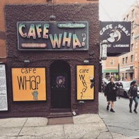 Photo taken at Cafe Wha? by Jonathan G. on 3/26/2016