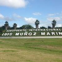 Photo taken at Luis Muñoz Marín International Airport (SJU) by Roberto B. on 2/14/2013