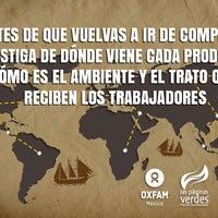 Foto tomada en Las Páginas Verdes por Oxfam México el 2/23/2013