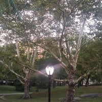 Photo taken at Central Park - East Drive by Olha S. on 8/29/2014