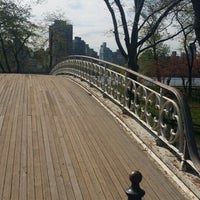 Photo taken at Central Park - Gothic Bridge by Olha S. on 5/2/2014
