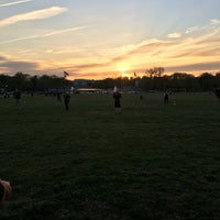 Photo taken at WAKA DC Capital Kickball Fields by Ame on 4/13/2016