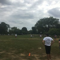 Photo taken at WAKA DC Capital Kickball Fields by Ame on 9/17/2016
