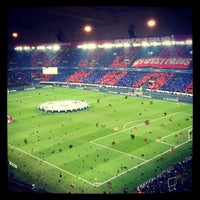 Photo taken at Parc des Princes by Frederic R. on 4/2/2013