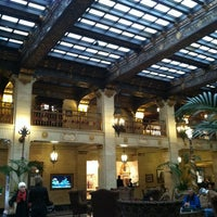 Photo taken at The Davenport Hotel by Dana S. on 11/1/2012