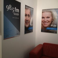 Photo taken at 98,5 FM by Carl C. on 10/23/2012