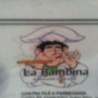 Photo taken at La Bambina by Vinny B. on 9/28/2012