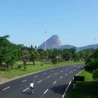 Photo taken at Flamengo Park by Vinny B. on 11/20/2012