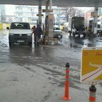 Photo taken at Shell by Gülşen S. on 1/25/2017