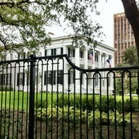 Photo taken at Texas Governor's Mansion by David S. on 10/7/2012