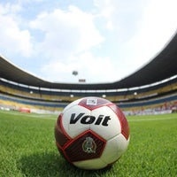 Photo taken at Estadio Jalisco by Ganz on 2/10/2013