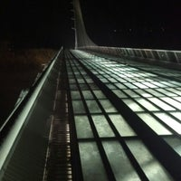 Photo taken at Sundial Bridge by Fidz on 11/9/2012