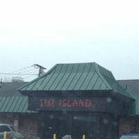 Photo taken at Tiki Island Restaurant by Steph K. on 12/25/2012