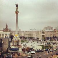 Снимок сделан в Майдан Незалежности пользователем Roman 11/2/2013