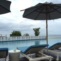 Photo taken at The Rock Hua Hin Boutique Beach Resort and Spa by Kevinkks on 7/18/2015