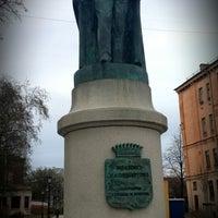 Photo taken at Памятник Иоанису Каподистрия by Vladimir M. on 4/26/2014