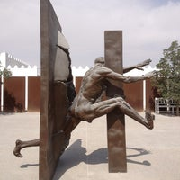 Photo taken at Mathaf: Arab Museum of Modern Art by Jonathan K. on 2/20/2013