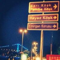 Photo taken at Emirgan Sahili by Emre Ç. on 7/26/2013