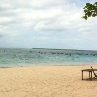 Photo taken at Jimbaran Bay Seafood by Pat A. on 12/22/2012