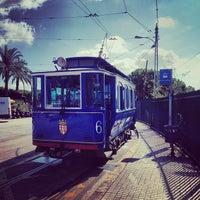Photo taken at Tramvia Blau by Anton B. on 9/14/2013