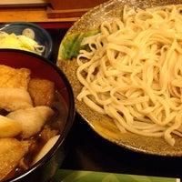 Photo taken at おやじのうどん旬 by kekkojin S. on 1/31/2014