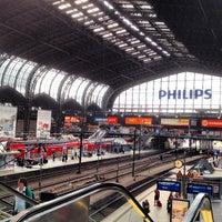 Das Foto wurde bei Hamburg Hauptbahnhof von David G. am 6/11/2013 aufgenommen