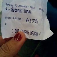 Photo taken at BNI KCU Medan by nuri a. on 12/30/2013