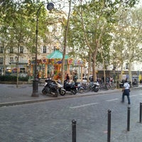 Photo taken at Place des Abbesses by Valéry M. on 9/15/2012