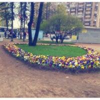 Снимок сделан в Площадь Мужества пользователем nuttah 5/13/2013