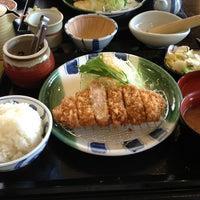 Photo taken at かつ雅 小幡店 by Hideki K. on 2/17/2013