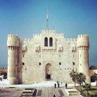 Photo taken at Citadel of Qaitbay by Mohamed E. on 3/6/2013