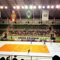 Photo taken at Arena Multiuso by Josie C. on 11/19/2012